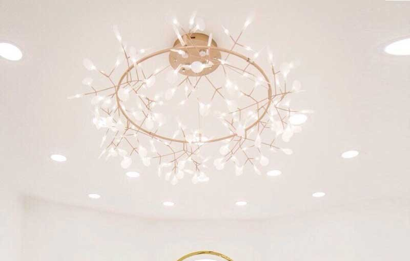 Đèn trang trí nhà hàng thả trần cao cấp - Đèn thả trần trang trí nhà hàng cao cấp Hera