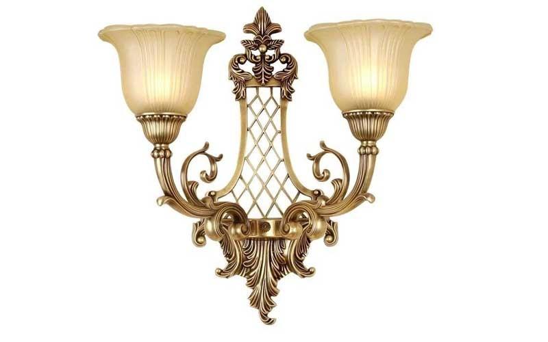 Mẫu đèn ngủ treo tường cổ điểnHermosa đôi - Đèn trang trí tường cổ điển