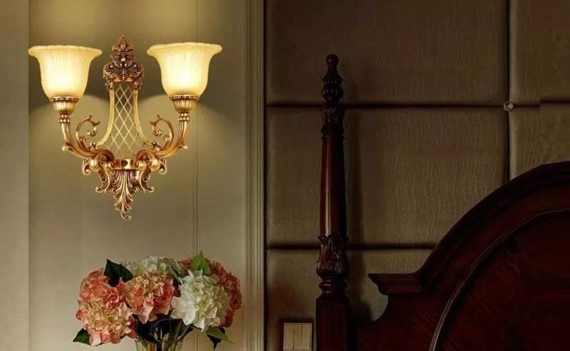 Đèn treo tường cổ điển - Đèn ngủ treo tường cổ điển