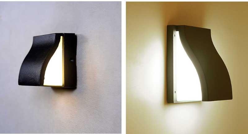 đèn hắt tường ngoài trời