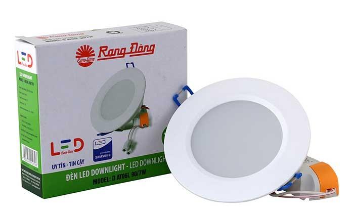 Đèn LED âm trần 12w Rạng Đông chính hãng - Đèn LED âm trần Rạng Đông 12w phòng ngủ