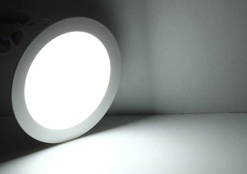 Đèn LED âm trần 18w siêu mỏng SM-T-DM-18 - Đèn LED downlight âm trần 18w đổi màu giá rẻ