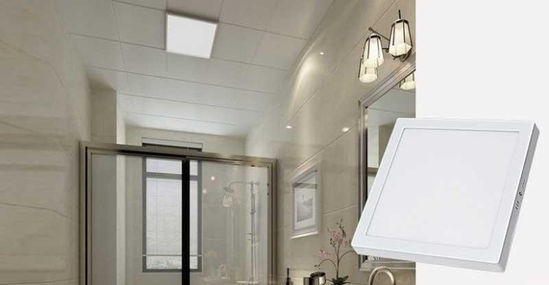 Đèn LED vuông ốp trần - Đèn ốp trần vuông 12W MT-912