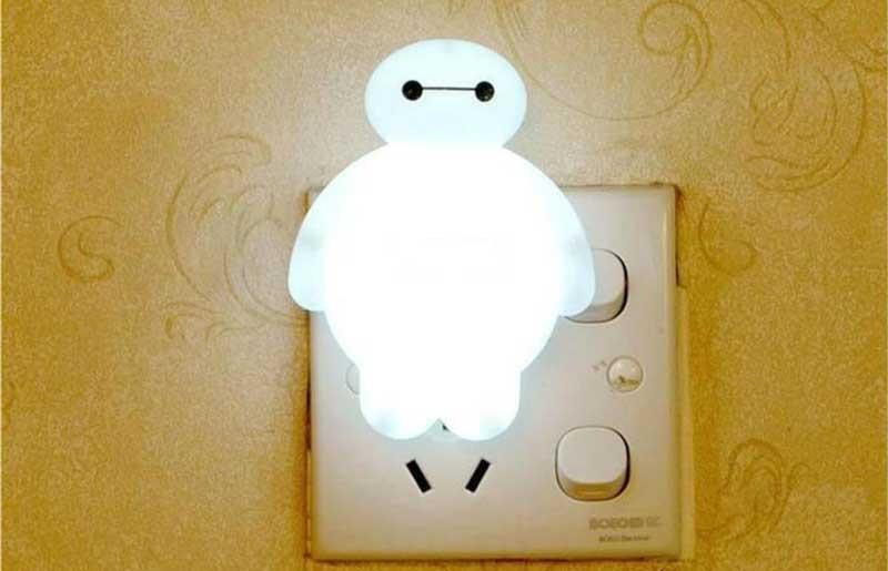 đèn ngủ led cắm tường