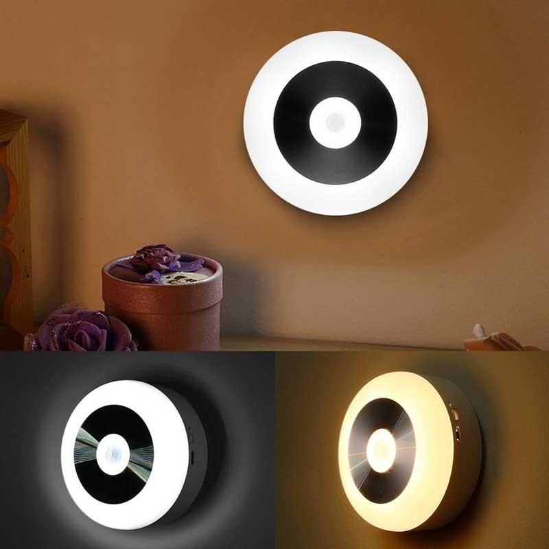 Đèn ngủ cắm tường cảm ứng đổi màu - Đèn trang trí phòng ngủ cắm tường cảm ứng đổi màu