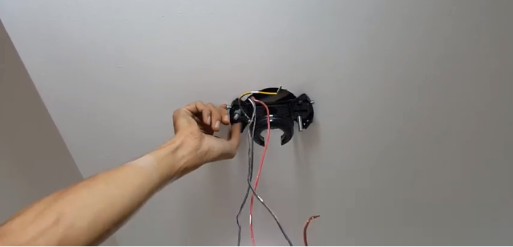 cách lắp quạt trần đèn