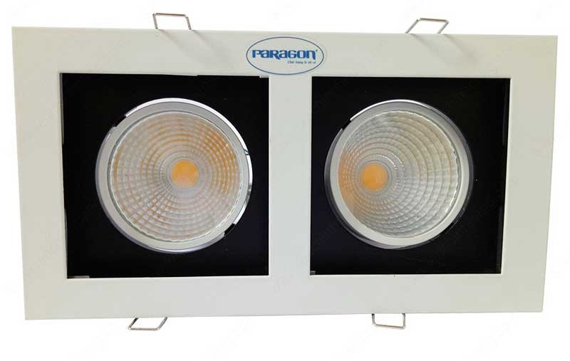 Đèn downlight đôi Paragon - Đèn LED downlight đôi âm trần Paragon