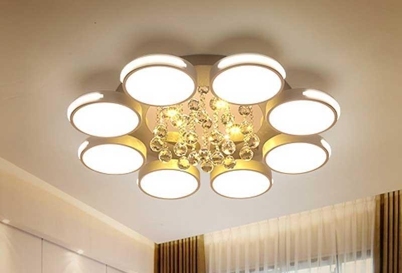 Đèn nội thất trang trí ốp trần, đèn decor áp trần đẹp