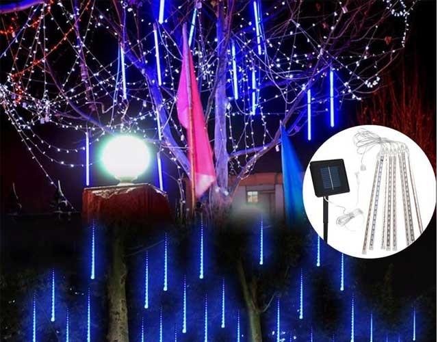 đèn led quấn cây ngoài trời
