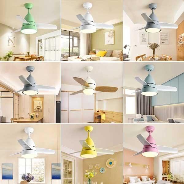 cách chọn quạt trần đèn