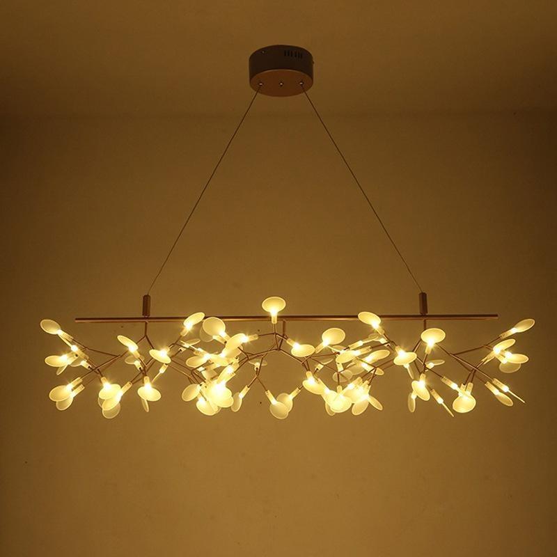 Đèn thả bàn ăn Hera ngang