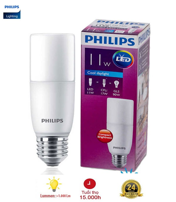 Bóng đèn LED Philips Stick 11W E27
