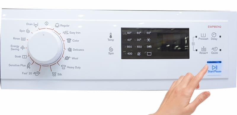 Cách sử dụng máy giặt Electrolux 7kg cửa ngang