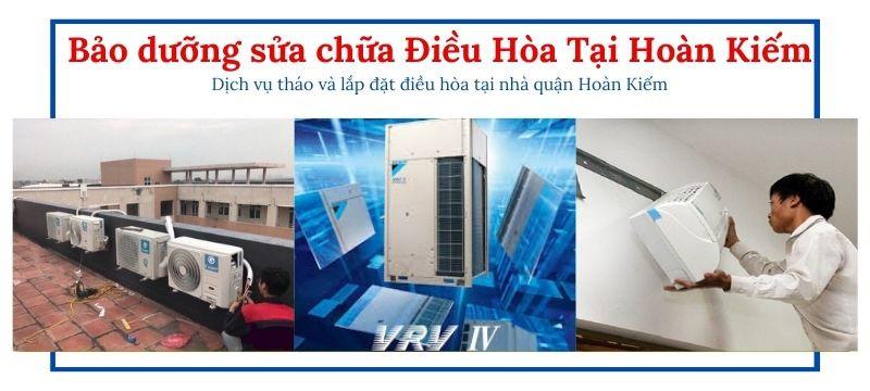 Sửa chữa điều hòa tại quận Hoàn Kiếm