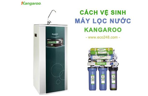 Bí quyết vệ sinh máy lọc nước Kangaroo đơn giản tại nhà