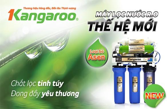 Máy lọc nước Kangaroo - Người bạn đồng hành của gia đình Việt