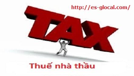Thuế nhà thầu đối với trường hợp nhập khẩu hàng hoá từ nước ngoài vào Việt Nam