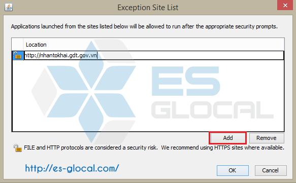 Add Java Security
