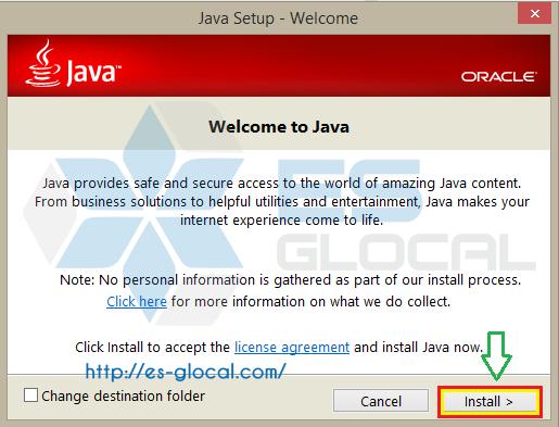 Tải và cài đặt Java để kê khai và nộp thuế qua mạng