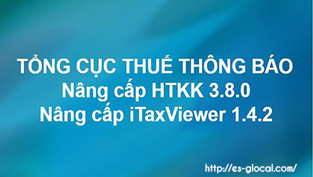 Phần mềm HTKK 3.8.0, Itaxviewer 1.4.2 mới nhất ngày 12/11/2017
