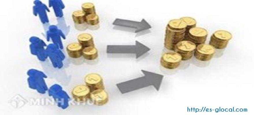 Góp vốn bằng tiền mặt hay chuyển khoản ?