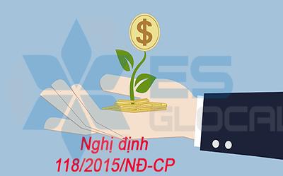 Nghị định 118/2015/NĐ-CP Quy định, hướng dẫn Luật đầu tư