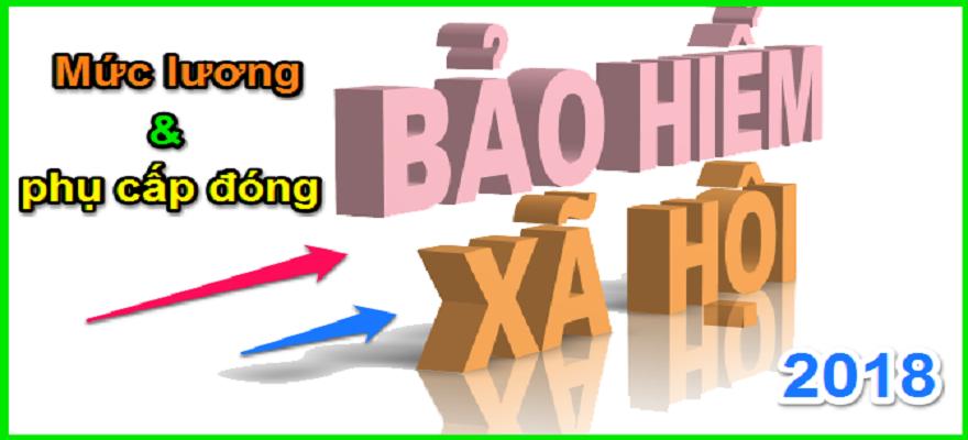 Các khoản tiền lương phải đóng BHXH năm 2019 gồm những khoản nào?