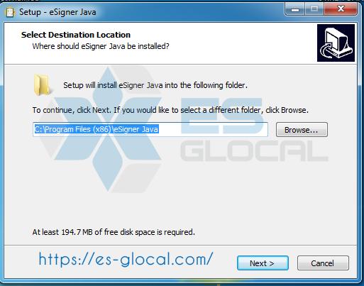 Esigner java version 1.0.7 mới nhất hiện nay