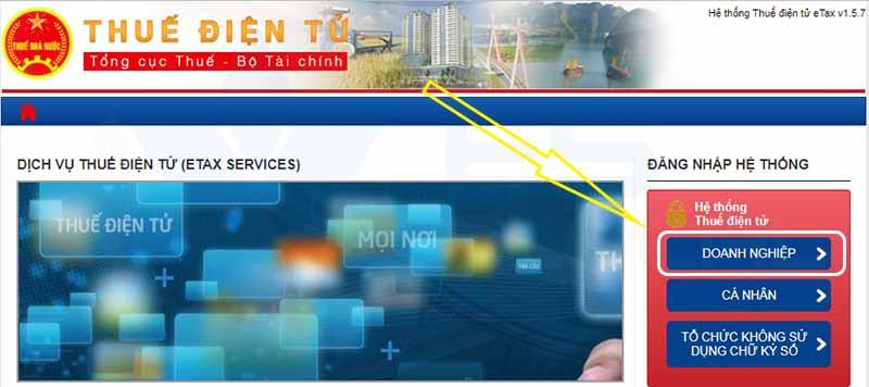 Truy cập thuế điện tử