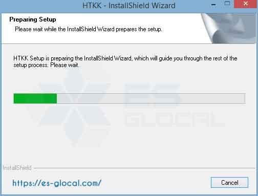 Quá trình cài đặt phần mềm HTKK