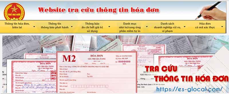 Tra cứu thông báo phát hành hóa đơn qua mạng