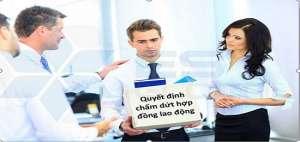 Cập nhật mẫu quyết định chấm dứt hợp đồng lao động mới nhất