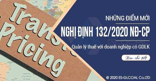 Những điểm mới của Nghị định 132/2020/NĐ-CP về Giao dịch liên kết