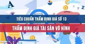 Tiêu chuẩn thẩm định giá Việt Nam số 13 về Thẩm định giá tài sản vô hình