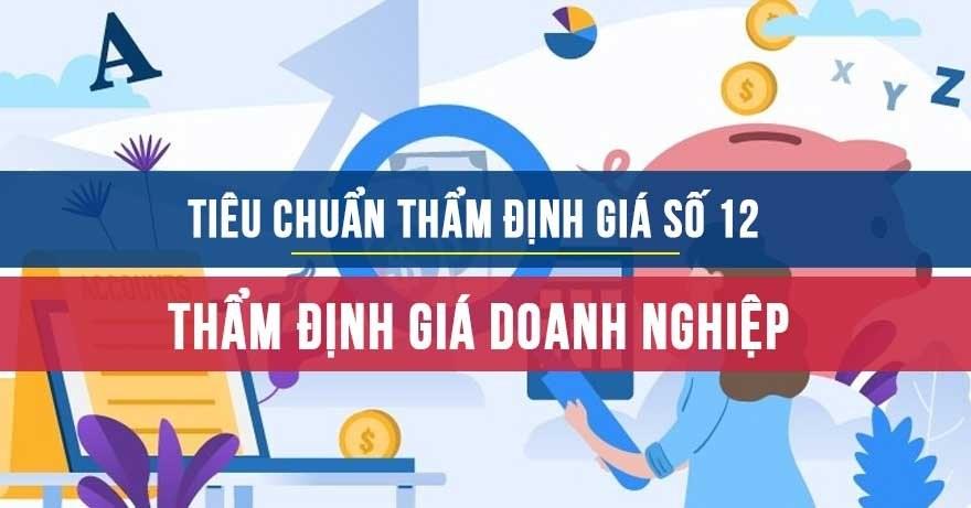 Tiêu chuẩn thẩm định giá Việt Nam số 12 Thẩm định giá doanh nghiệp