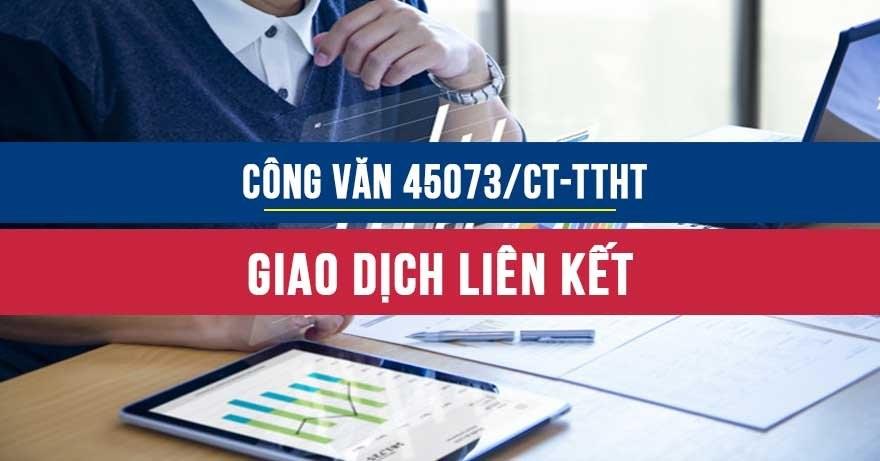 Công văn 45073/CT-TTHT năm 2020 về giao dịch liên kết