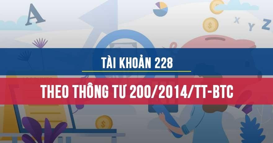 TK228- TT200/2014/TT-BTC