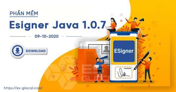 Ứng dụng Esigner Java version 1.0.7