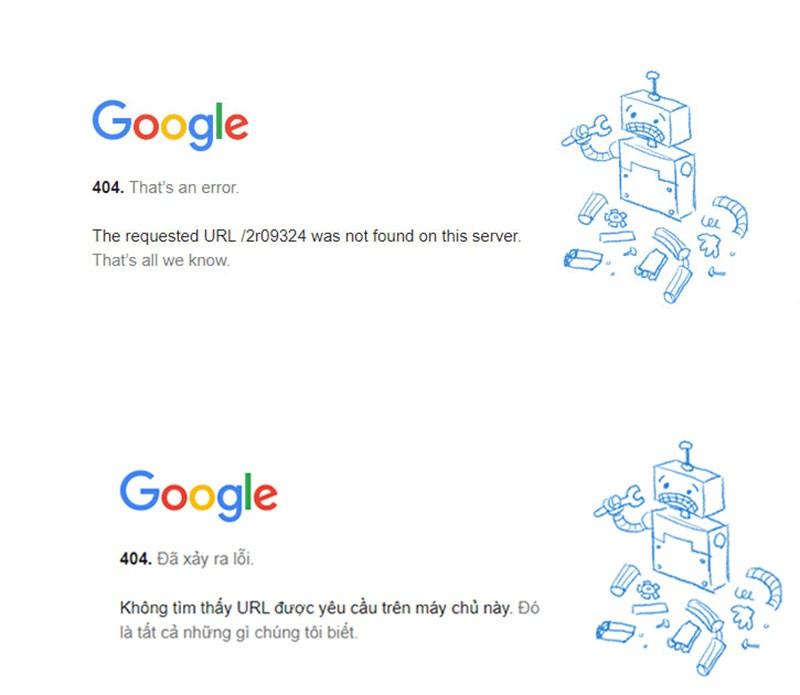 lỗi 404 khi đăng nhập vào thuế điện tử của Tổng cục thuế