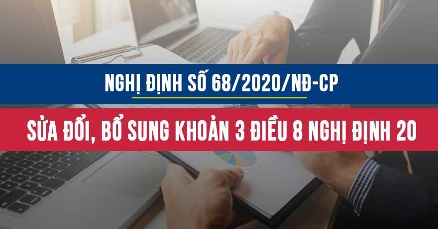 Nghị định số 68/2020/NĐ-CP