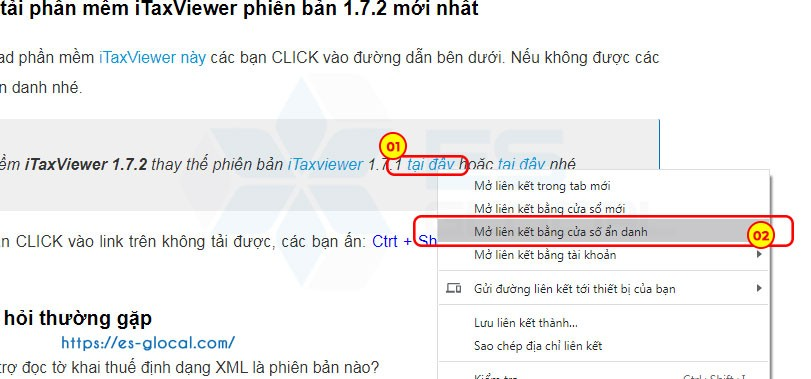 download phần mềm itaxvviewer 1.7.2 của TCT