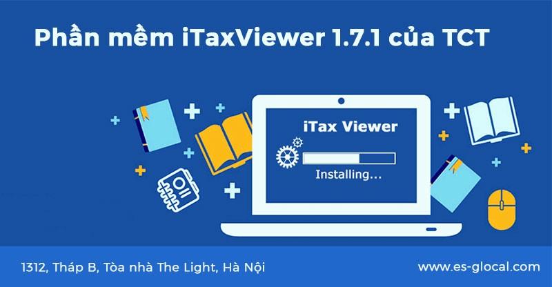 Phần mềm itaxviewer 1.7.1 mới nhất ngày 09 tháng 03 năm 2021