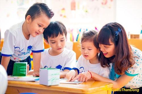 tuyển gia sư dạy tiếng anh cho trẻ em