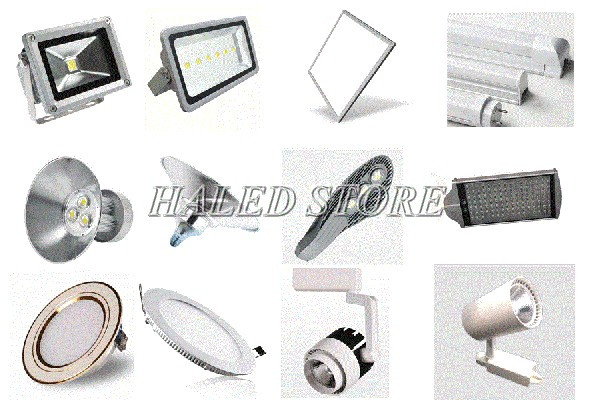 Các dòng sản phẩm đèn LED