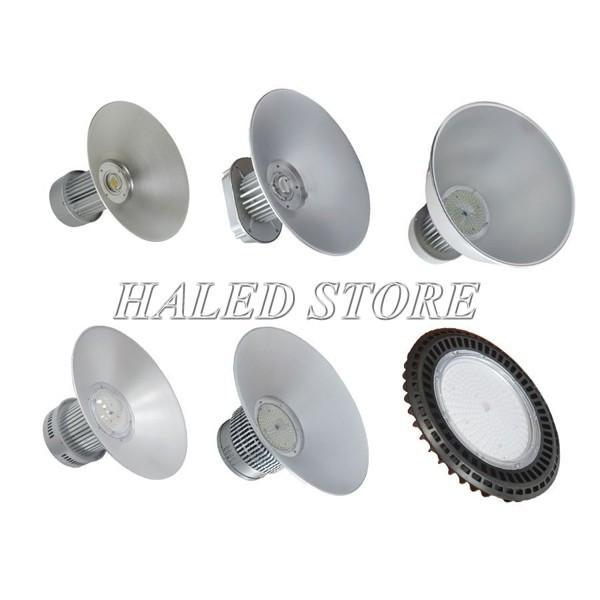 Các mẫu đèn nhà xưởng của đại lý đèn công nghiệp HALEDCO