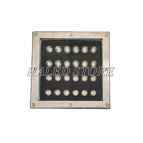 Chip LED của đèn LED âm đất HLDAUG2-24 RGB