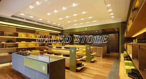 Đèn LED âm trần HLRD AT10 ĐM VB 110-9 chiếu sáng cửa hàng