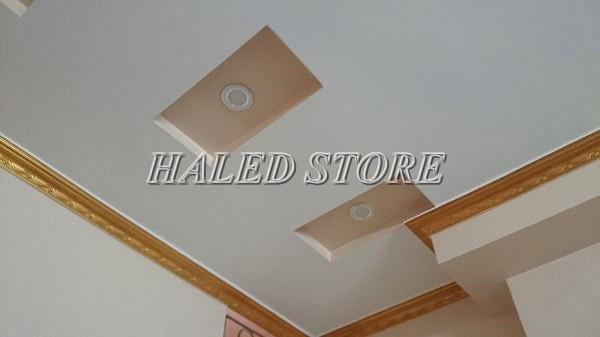Đèn LED âm trần HLRD AT10 ĐM VB 90-7 chiếu sáng khách sạn