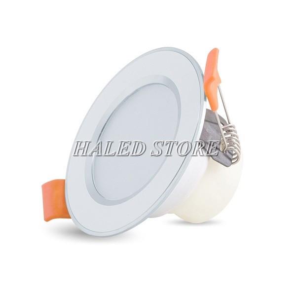 Đèn LED âm trần HLRD AT10 ĐM 60-3 viền bạc