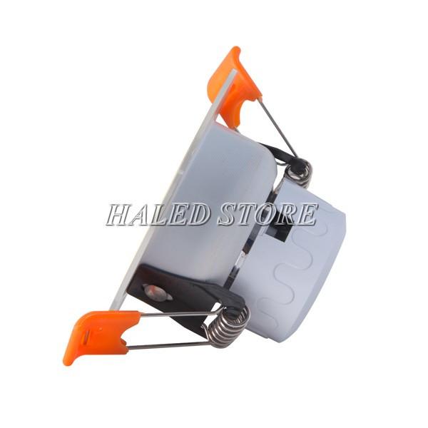 Nguồn LED được tích hợp bên trong thân đèn